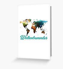 globetrotter Greeting Card