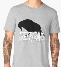 Raven Silhouette Men's Premium T-Shirt