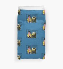 Pat and Silent Bob Duvet Cover