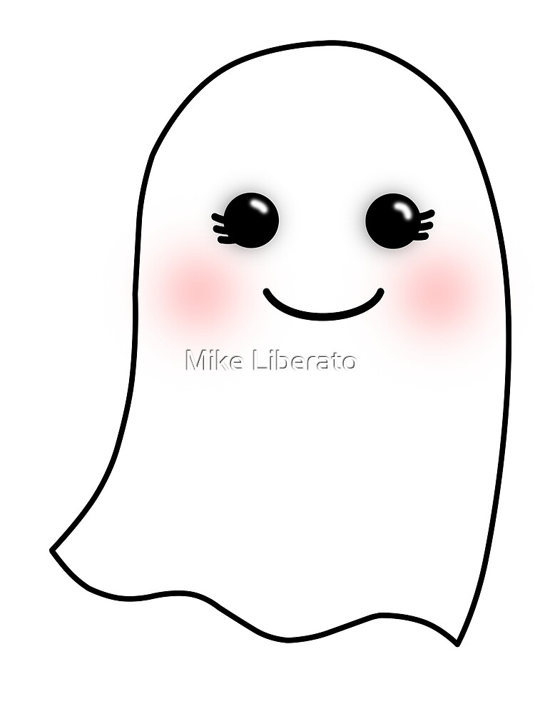 Horrifying Cute Ghost  Girl by Mike Liberato  Redbubble