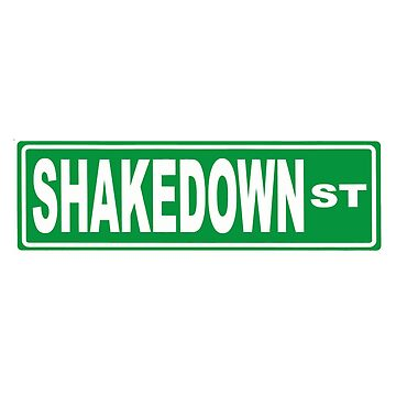 Shakedown Street by typographywords