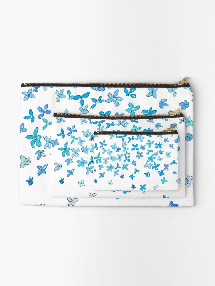 Click on the image below: Minimalist Blue Flower Dream