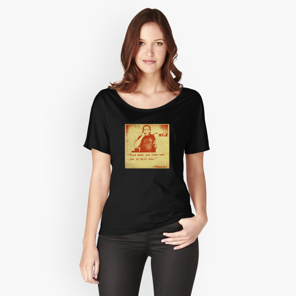 Bukowski Relaxed Fit T-Shirt