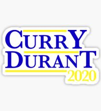 Pegatina Campaña Curry Durant