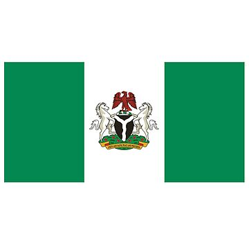 Flag of the President of Nigeria by CarterCooper