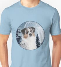 Blue Merle Australian Shepherd T-Shirt
