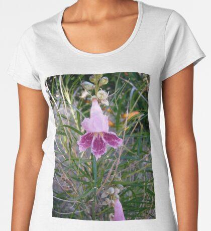 Pink Flowers Women's Premium T-Shirt