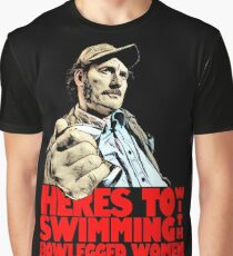 Quint- Jaws Graphic T-Shirt