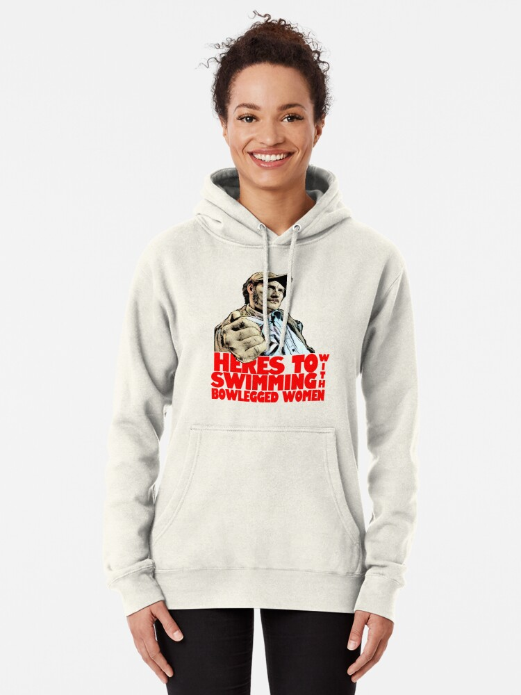 Alternate view of Quint- Jaws Pullover Hoodie