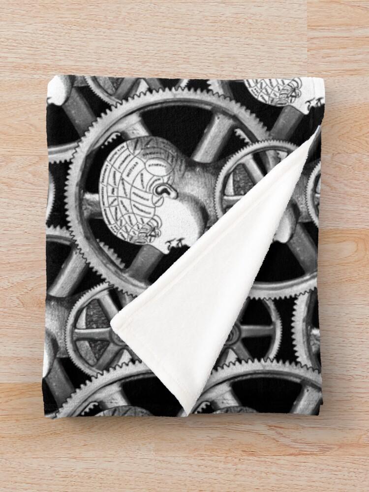 Alternate view of Gearhead #2 Throw Blanket