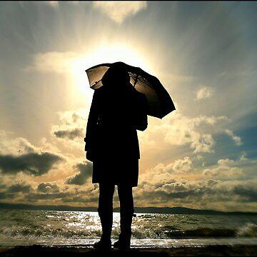 Umbrella Girl by michael-winkler