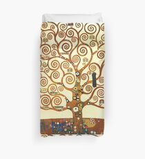 HD The Tree of Life, 1905 by Gustav Klimt - HIGH DEFINITION Duvet Cover