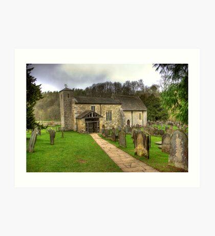St Gregory's Minster - North Yorkshire Art Print
