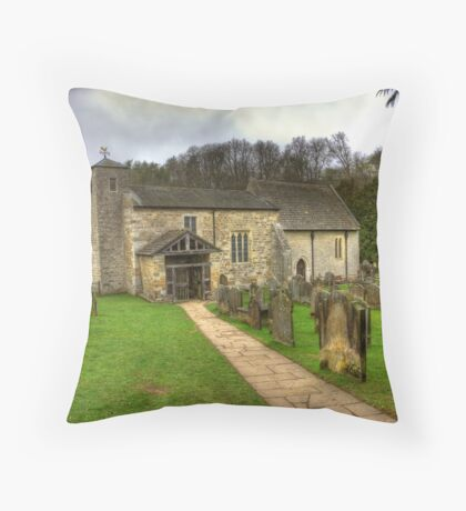 St Gregory's Minster - North Yorkshire Throw Pillow