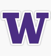 small university of washington Sticker
