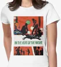 IN THE HEAT OF THE NIGHT Women's Fitted T-Shirt