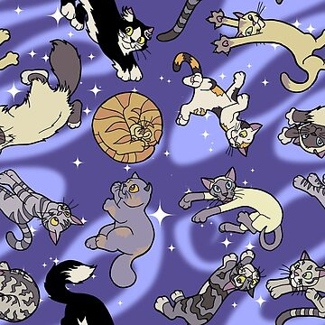 Floaty Cats in Space by FelisAstrum