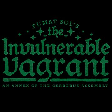Pumat Sol's The Invulnerable Vagrant by huckblade