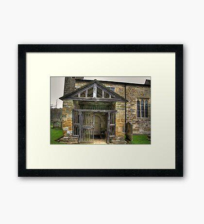 The Entrance St Gregory's Minster Framed Print