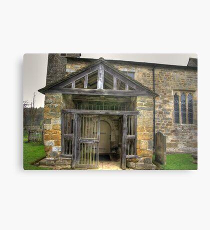 The Entrance St Gregory's Minster Metal Print