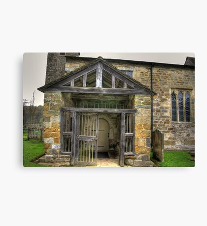 The Entrance St Gregory's Minster Canvas Print