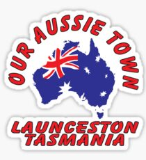 Launceston TAS Sticker