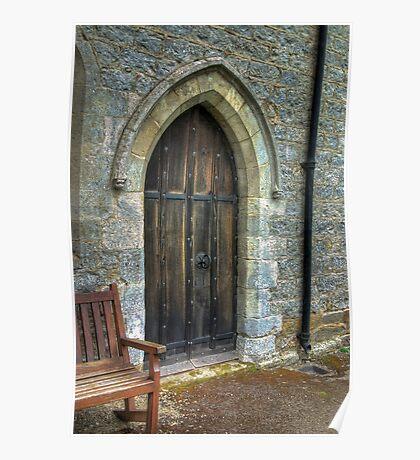 The Door - St Gregory's Minster Poster