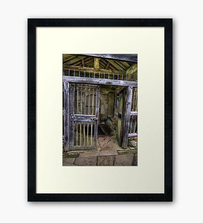 The Gate - St Gregory's Minster Framed Print