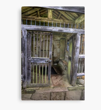 The Gate - St Gregory's Minster Metal Print