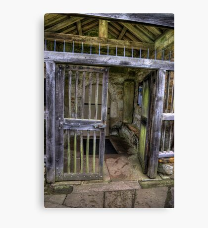 The Gate - St Gregory's Minster Canvas Print