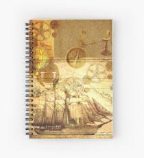 Steampunk Spiral Notebook