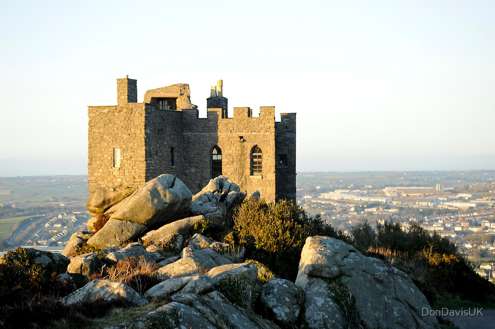 Quot Carn Brea Castle Redruth Cornwall Uk Quot By Dondavisuk
