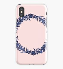 Dawn of Flowers, Blue Willow. iPhone Case/Skin
