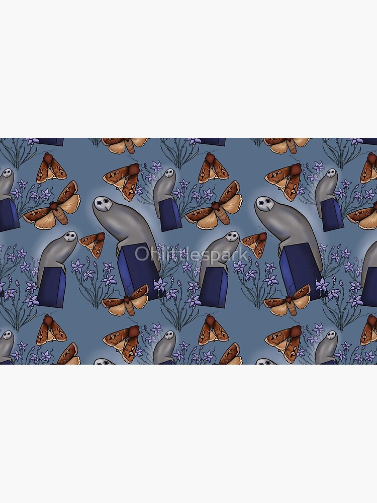 Canberra Owl - Blue by Ohlittlespark