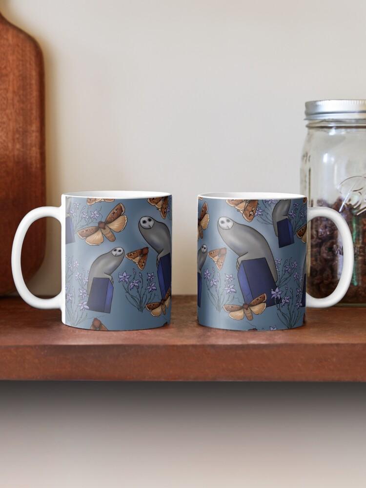 Alternate view of Canberra Owl - Blue Mug