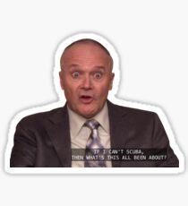 creed bratton Sticker