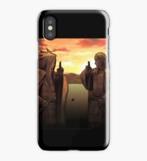 Naruto - Hashirama vs Madara! (Valley of the End) iPhone Case