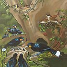 The Huia, the Piopio and the Stitchbird by Patricia Howitt