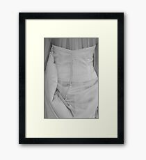 Bridal gown Framed Print