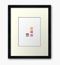 Minimalist Dexters Laboratory Framed Print