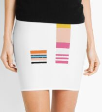 Minimalist Dexters Laboratory Mini Skirt
