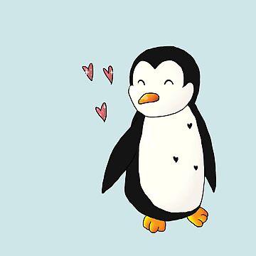 Loving Penguin by i-love-food