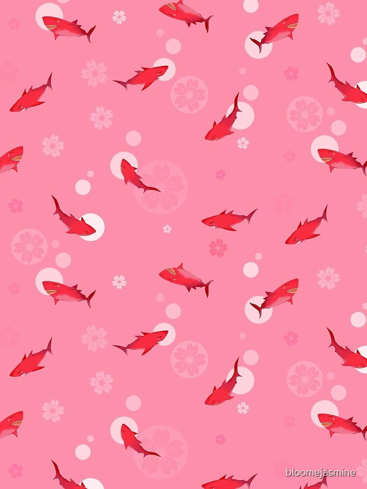 Sakura Shark by bloomejasmine