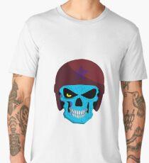 Zombie Skull Military Men's Premium T-Shirt