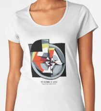 The Meaning of Music (spotlight) Women's Premium T-Shirt