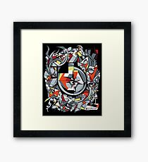 The Meaning of Music (design) Framed Print