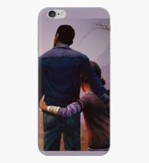 Clementine & Lee- The Walking Dead Game iPhone Case