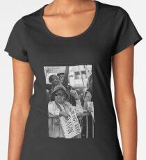 Not Today Satan Women's Premium T-Shirt