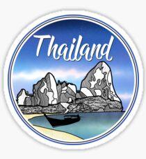 Railay Beach Thailand Sticker