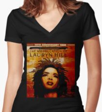 Ms. Lauryn Hill Women's Fitted V-Neck T-Shirt